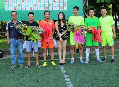 Danh thủ Triệu Quang Hà nổi bật tại 'Giải Tứ hùng - cúp mùa thu 2014'