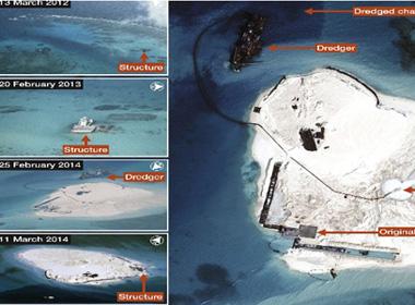 Trung Quốc xây dựng ở Gạc Ma còn nguy hiểm hơn đặt giàn khoan 981