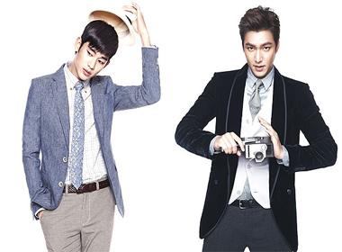 Kim Soo Hyun và Lee Min Ho cạnh tranh giải thưởng tại Drama Hàn