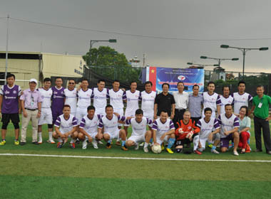 CLB bóng đá Ngôi sao Việt Nam lọt vào bán kết cúp Bộ Công thương