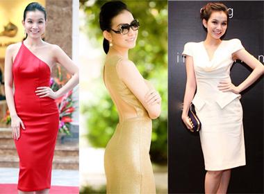 Ngắm gu thời trang thanh lịch và gợi cảm của Hoa hậu Thùy Lâm
