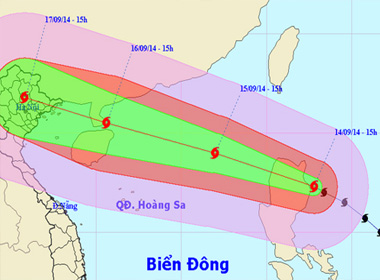 Bão Kalmaegi ảnh hưởng đến miền Bắc Việt Nam