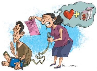 Khó đỡ với những lá đơn ly hôn hài hước