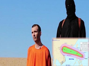Nóng 24h: Bão Kalmaegi vào biển Đông, IS tiếp tục tung video vụ chặt đầu thứ ba