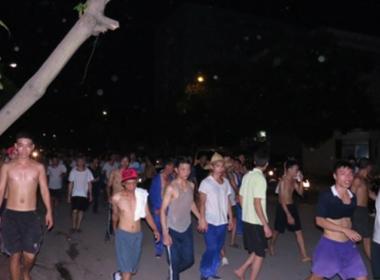 Vỡ trại cai nghiện: Một số học viên đã quay lại