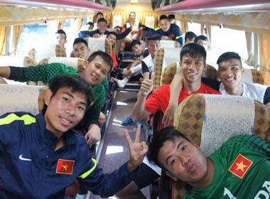 Olympic Việt Nam tự tin trước giờ xuất trận!