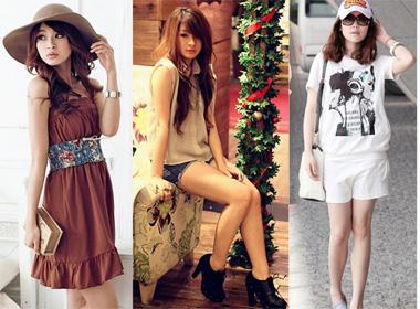 6 phong cách đẹp như hotgirl Hàn Quốc ngày đầu thu