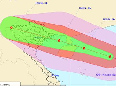 Bão Kalmaegi: Tối nay bão đổ bộ đất liền