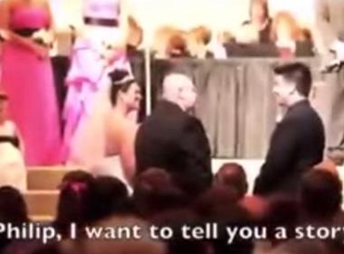 Clip bố vợ khiến chàng rể bật khóc bởi những lời dặn dò độc đáo