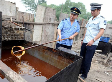 Ăn dầu mỡ làm từ rác thải có thể gây ung thư