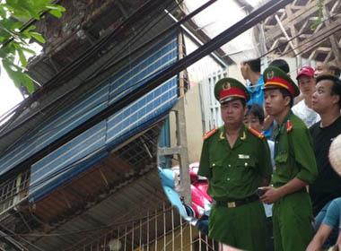 TRỰC TIẾP: PGĐ C.A Hà Nội đang trực tiếp chỉ đạo giải cứu 2 cháu bé