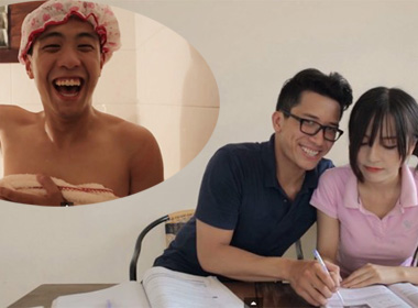 Chết cười với Doremon Việt Nam, Huyeme 'nhăn nhở' giả gái
