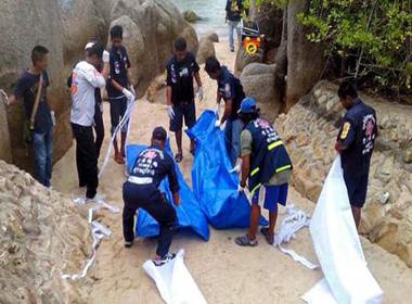 Khách du lịch người Anh bị giết hại dã man ở Thái Lan