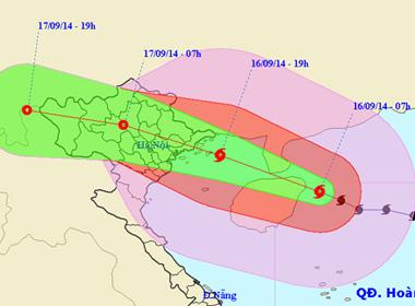 Tránh bão Kalmaegi, sơ tán khẩn cấp dân trước 17h hôm nay