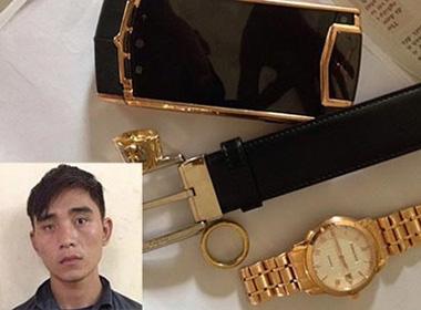 'Siêu trộm' táo bạo rao bán điện thoại Vertu hơn tỷ đồng