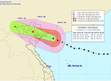 Bão số 3: Tâm bão cách Hải Phòng – Quảng Ninh khoảng 220km