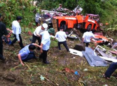 Lật xe khách ở Lào Cai: Quyết định khởi tố vụ án