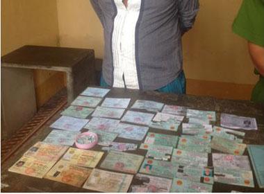Lừa đảo mua trả góp bằng giấy tờ giả