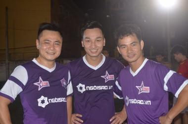 CLB bóng đá ngôi sao Việt Nam đá giao hữu cùng đội Văn phòng Chính phủ