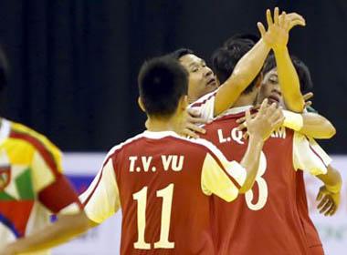 ĐT Futsal Việt Nam đè bẹp Myanmar tại giải vô địch ĐNÁ