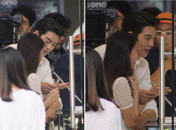 Ngọc Thảo 'ngại ngùng' đi mua nhẫn cùng Kim Woo Bin