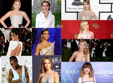 Top 10 mỹ nhân mặc đẹp nhất thế giới