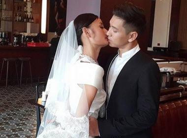 Lê Thúy khoe ảnh cưới bên chồng sắp cưới