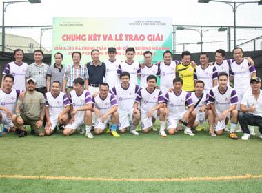 Khoảnh khắc vô địch của CLB bóng đá Ngôi sao Việt Nam tại cúp Bộ Công thương
