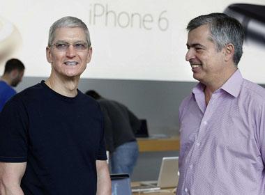 Apple bán được 10 triệu chiếc iPhone 6/Plus trong tuần đầu