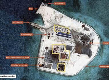 Tình hình biển Đông sáng 23/9: TQ cải tạo Gạc Ma để nhòm ngó Biển Đông?