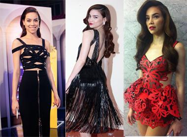 5 mẫu váy đệ nhất *** khiến Hà Hồ đẹp thôi miên