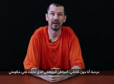 Con tin người Anh John Cantlie: 'IS không thể đánh bại'