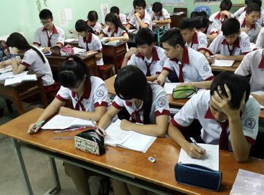 Không bỏ khối thi trong kỳ thi quốc gia