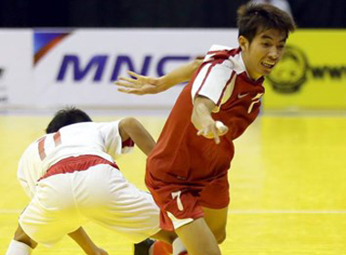 ĐT futsal Việt Nam đánh bại Thái Lan 2-0