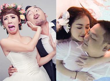 Những bộ ảnh cưới mang phong cách độc lạ của sao Việt