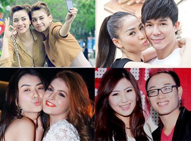 Những đôi bạn 'yêu nhau lắm, cắn nhau đau' ở showbiz Việt