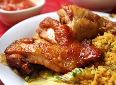 Gợi ý những món cơm rang vỉa hè phố cổ Hà Nội