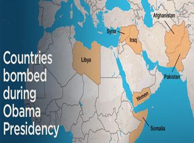 7 nước hứng bom Mỹ dưới thời Obama