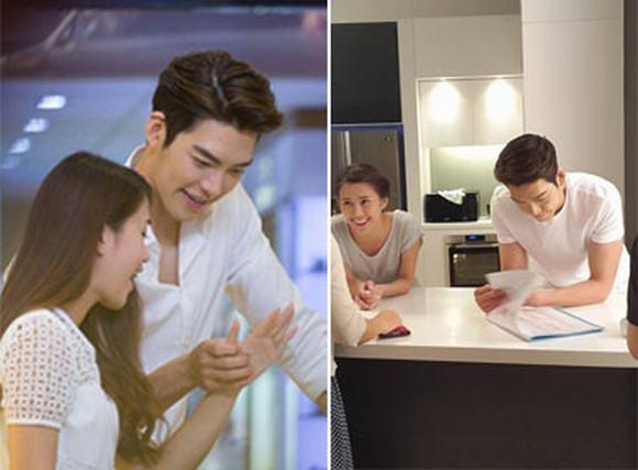 Kim Won Bin đẹp long lanh trong ảnh hậu trường đóng phim tại Việt Nam