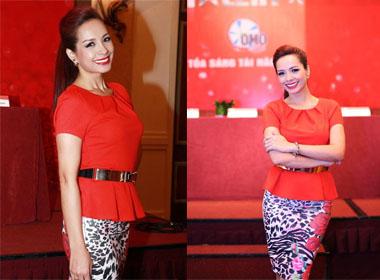 Vietnam's Got Talent 2014: Thuý Hạnh rạng rỡ trong buổi họp báo ra mắt