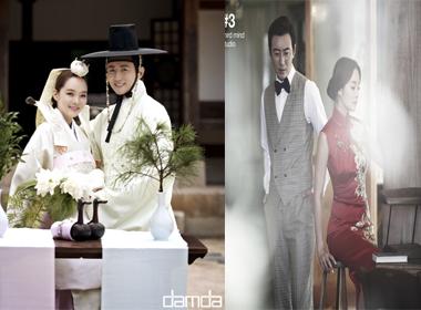 Chae Rim khoe ảnh cưới phong cách truyền thống