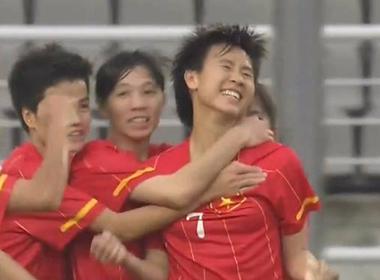 Video: nữ Việt Nam 2 - 1 nữ Thái Lan
