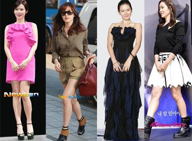 Style dễ thương của người đẹp Son Ye Jin