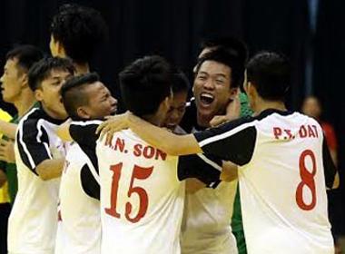 ĐT futsal Việt Nam giành vị trí thứ 3 tại giải vô địch ĐNÁ 2014