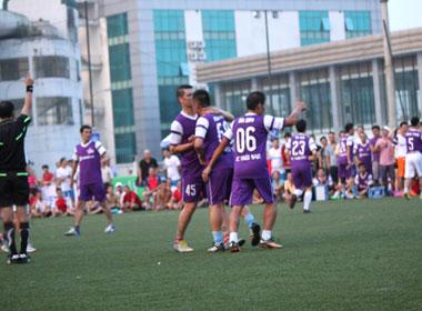 CLB bóng đá Ngôi Sao Việt Nam đo ván VP Bank