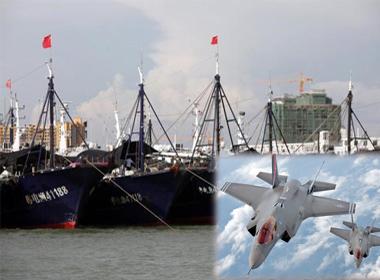 Nóng 24h: Trung Quốc triển khai tàu chở cá siêu trọng tới Trường Sa; Chiến đấu cơ Anh xuất kích chống IS ở Iraq