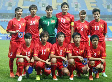 ĐT nữ Việt Nam được VFF thưởng thêm 200 triệu đồng