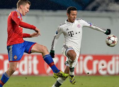 Soi kèo bóng đá Champions League 30/09/2014: CSKA Moscow - Bayern Munich: Đẳng cấp lên tiếng!
