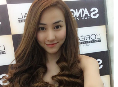 Ngân Khánh khoe tóc mới xinh lung linh