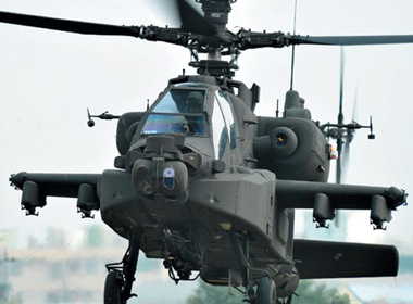 Đài Loan mua 30 máy bay chiến đấu Apache của Mỹ